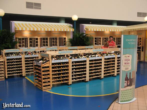 Photo of the Inspired Vines wine shop