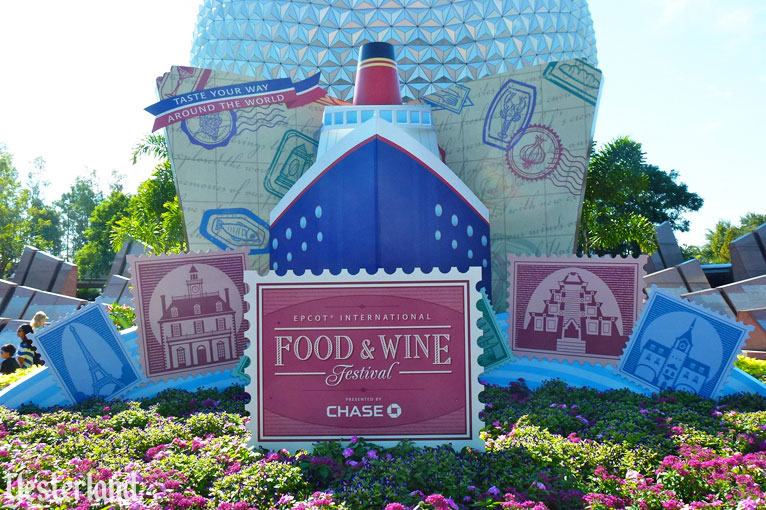 Epcot Food & Wine Festival, 2012