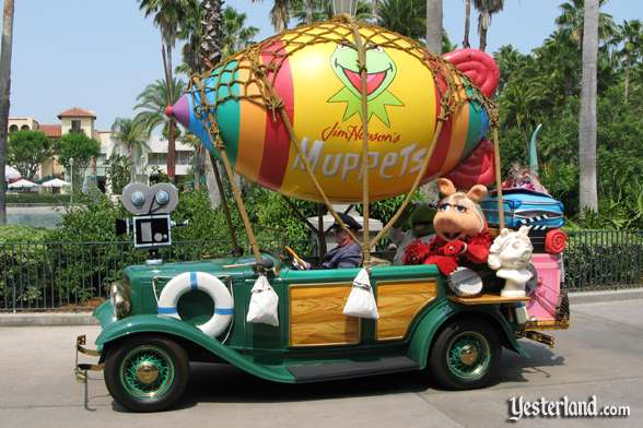 Jim Hensen's Muppets car in Disney Stars and Motor Cars parade