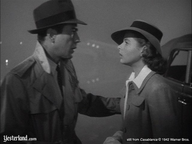 Screen capture from Casablanca © 1942 Warner Bros.