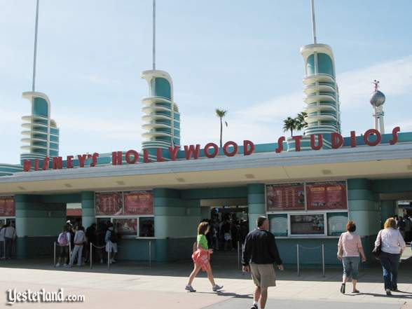 Disney's Hollywood Studios entrance
