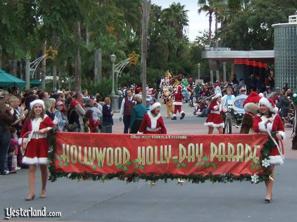 Hollywood Holly-Day Parade parade