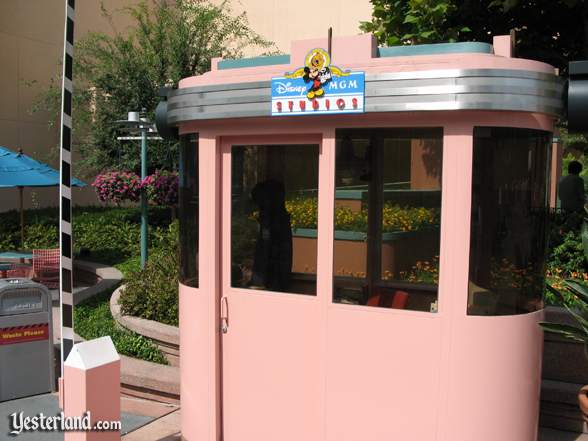 Disney-MGM Studios guard booth