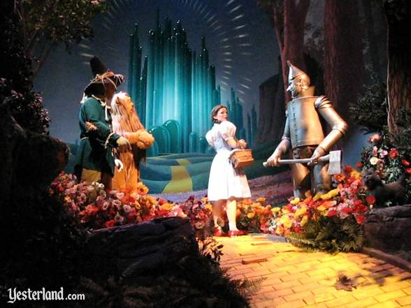Scene from The Wizard of Oz in The Great Movie Ride