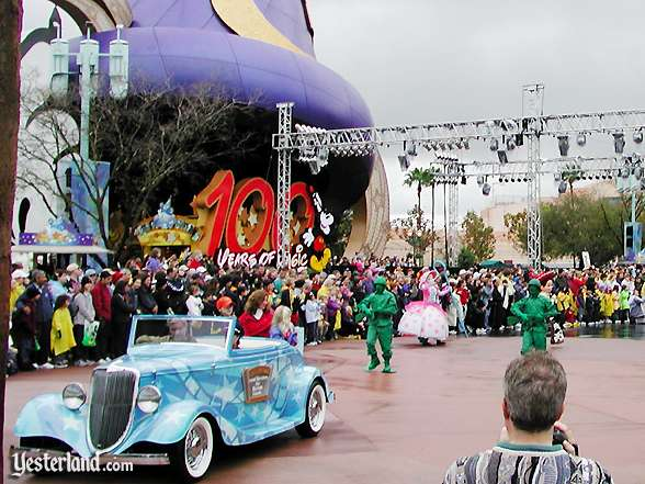 "The centerpiece of the ""100 Years of Magic"" celebration in 2001"
