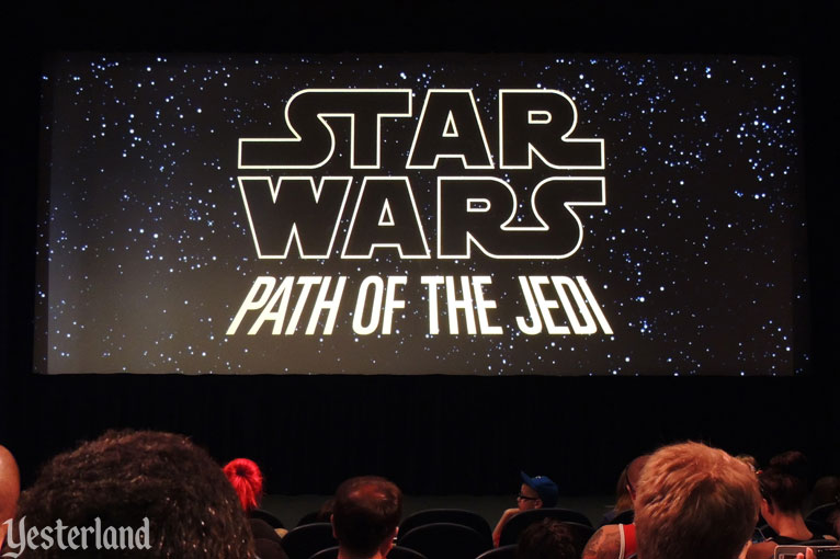Path of the Jedi at Disney's Hollywood Studios