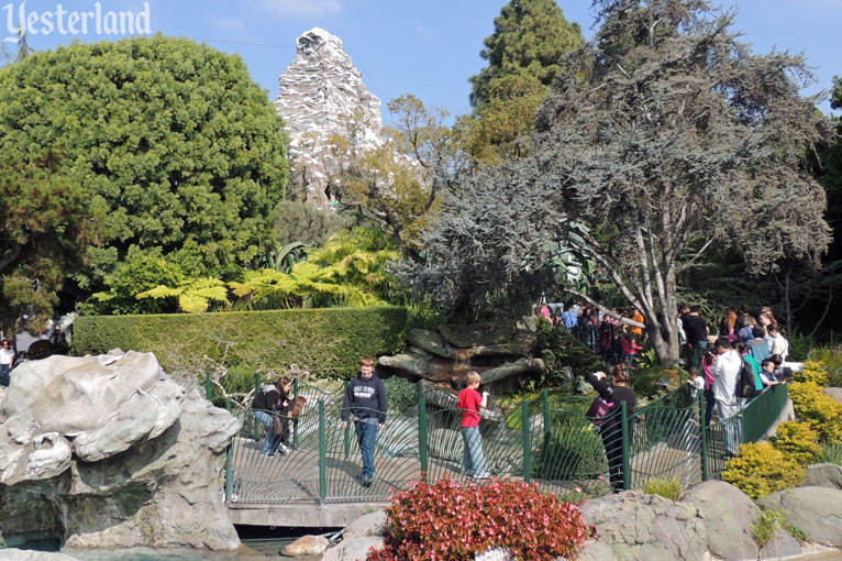 Alpine Gardens at Disneyland