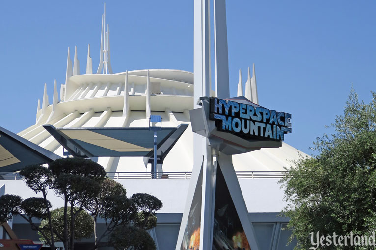 Hyperspace Mountain at Disneyland