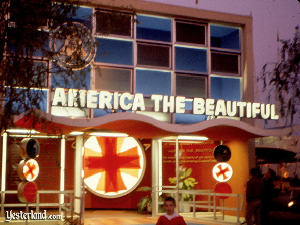 America the Beautiful in Circarama at Disneyland