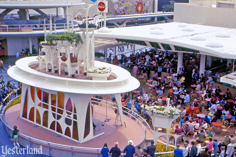Coca-Cola Tomorrowland Terrace at Disneyland