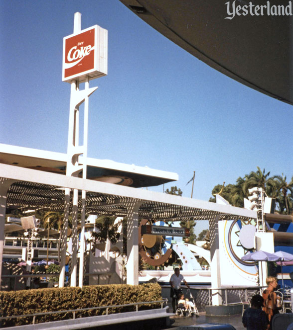 Coca Cola Tomorrowland Terrace at Disneyland, 1996