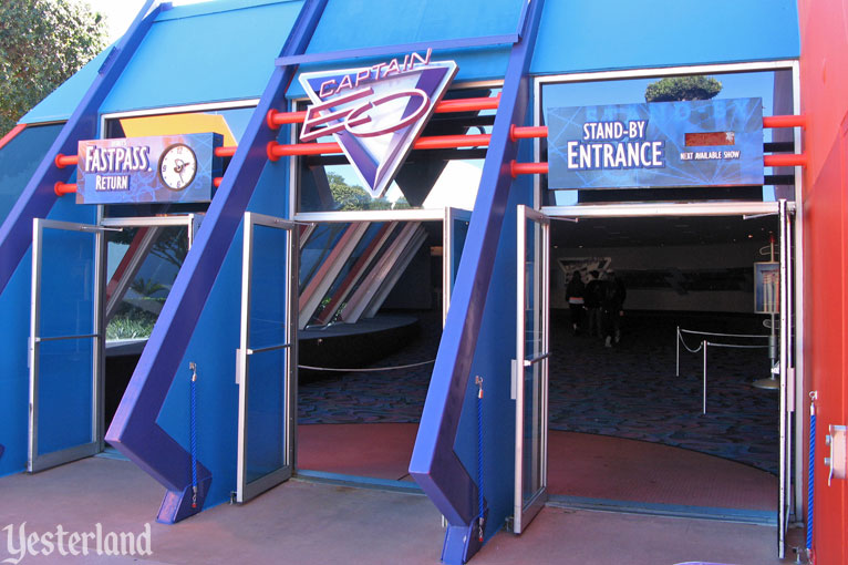 Captain EO at Epcot in 2010