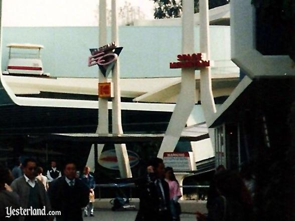 Captain EO and Star Tours pylons