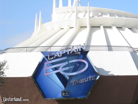 Captain EO Tribute sign in 2011 (after the end of Kodak's sponsorship)