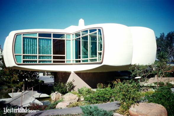 Photo of House of the Future with dark blue sky