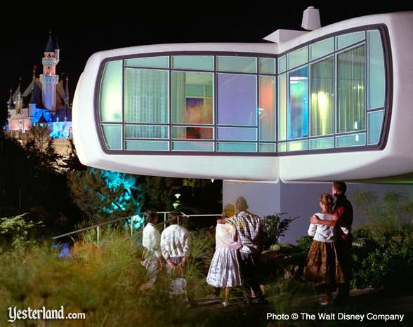 Disneyland publicity photo of the House of the Future