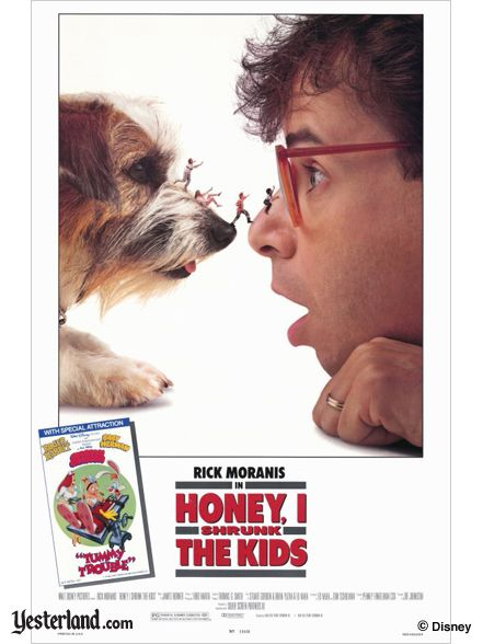 Honey, I Shrunk the Kids movie poster