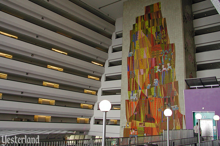 Mary Blair murals at Disney's Contemporary Resort