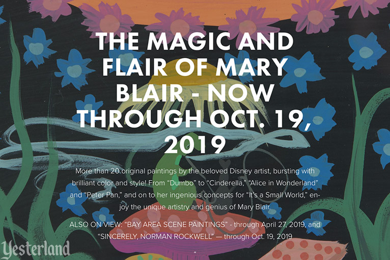THE MAGIC AND FLAIR OF MARY BLAIR the Hilbert Museum of California Art