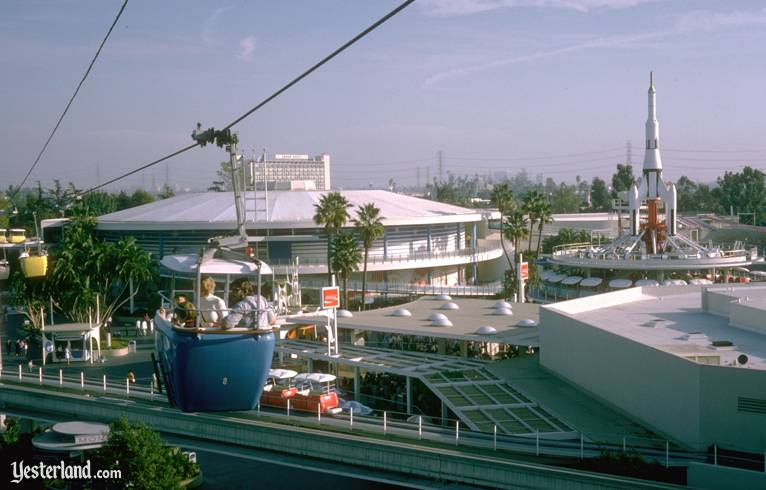 Disneyland Skyway and America Sings, 1974