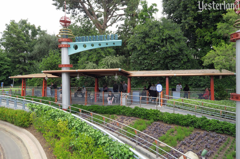 Tomorrowland Station at Disneyland