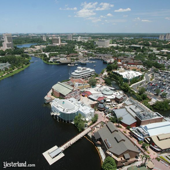 the view from Characters-In-Flight at Walt Disney World