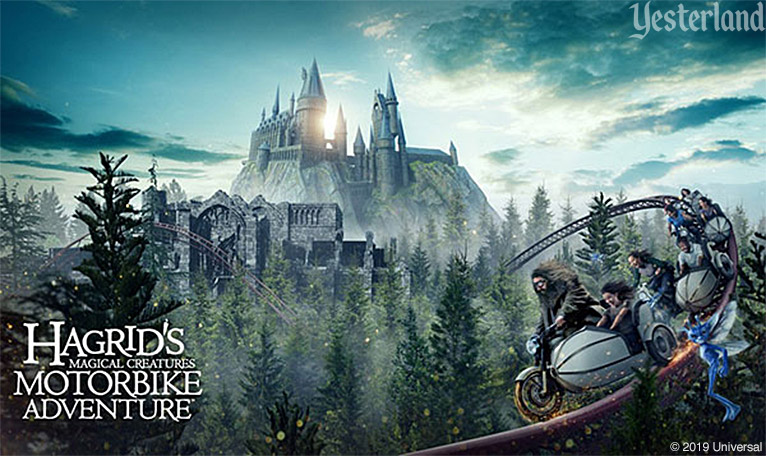 Hagrid's Magical Creatures Motorbike Adventure at Universal's Islands of Adventure Theme Park