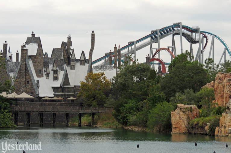 Dragon Challenge at Universal's Islands of Adventure Theme Park
