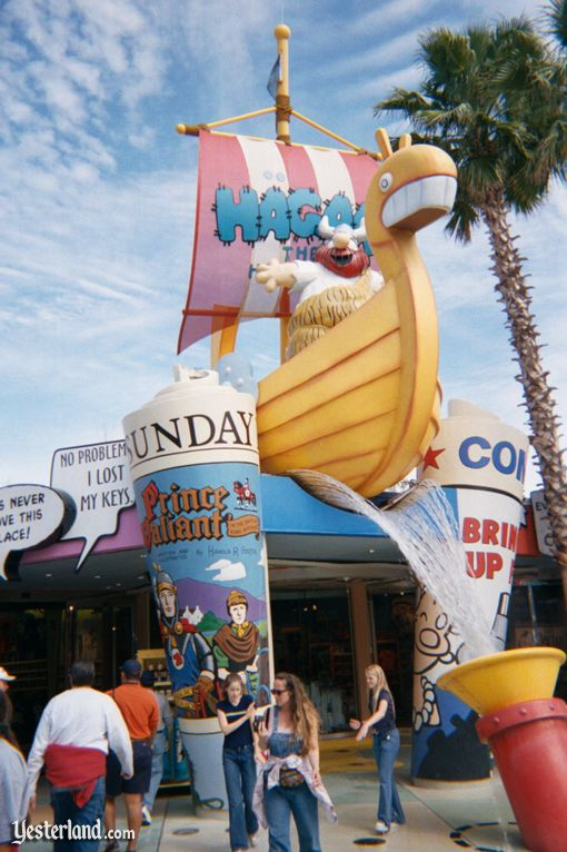 Image for then and now article about Universal's Islands of Adventure