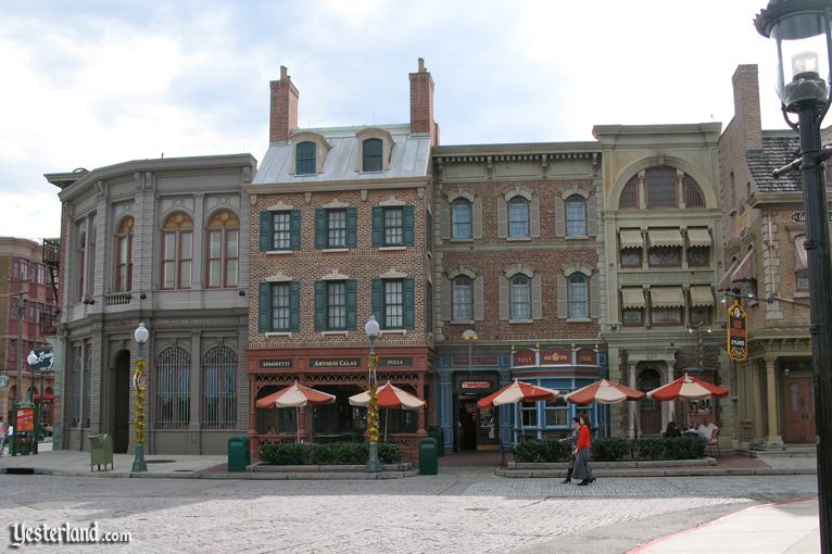 Image for then and now article about Universal Studios Florida