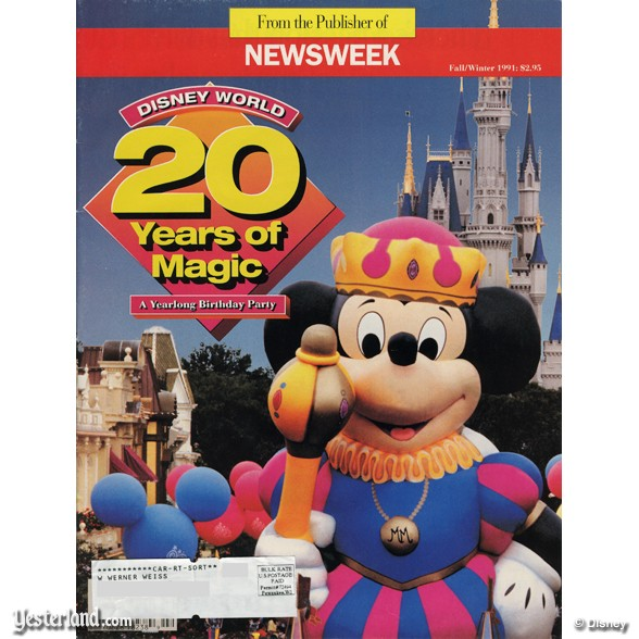 20 Special Anniverary Surprises at Walt Disney World (1992)
