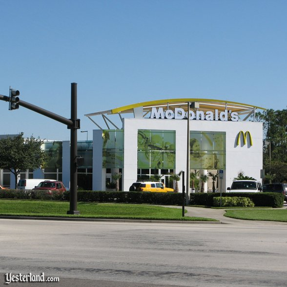McDonald's near All Star Resorts: 2009 by Werner Weiss.
