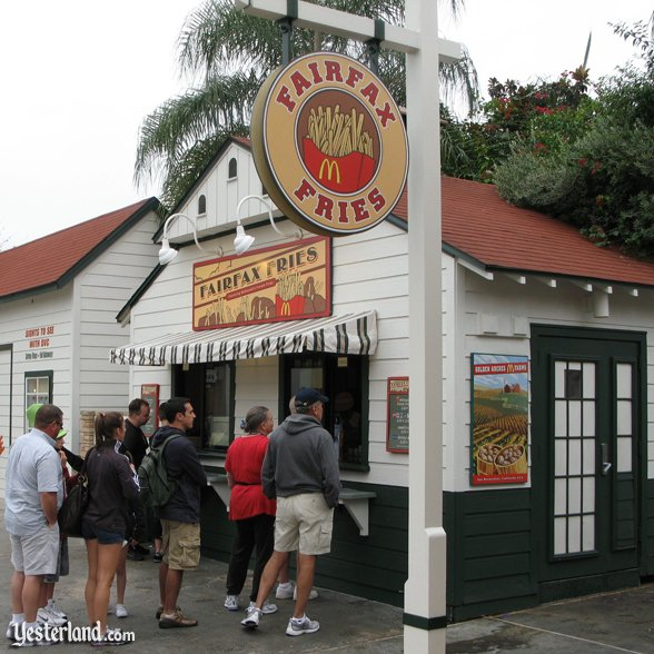 Fairfax Fries at Disney's Hollywood Studios: 2008 by Werner Weiss.