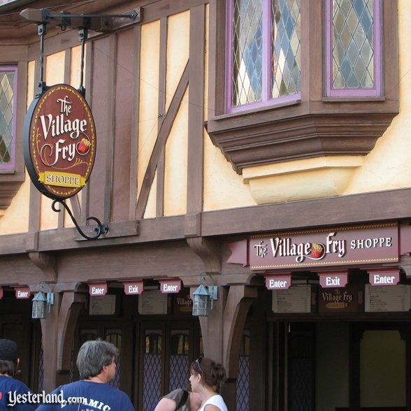 Village Fry Shoppe at Magic Kingdom: 2008 by Werner Weiss.