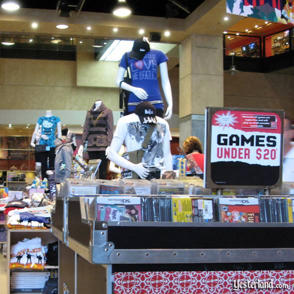Games at Virgin Megastore at Downtown Disney, Walt Disney World