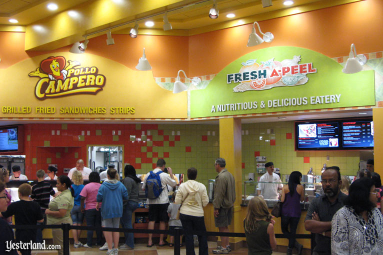 Pollo Campero, Fresh A-Peel, and BabyCakes NYC at Downtown Disney, Walt Disney World