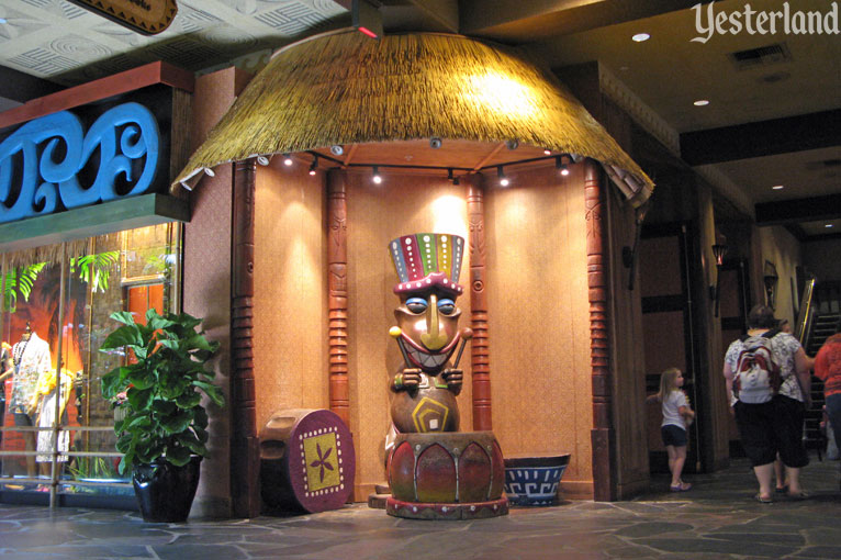 Waterfall Garden in the Great Ceremonial House at Disney's Polynesian Resort
