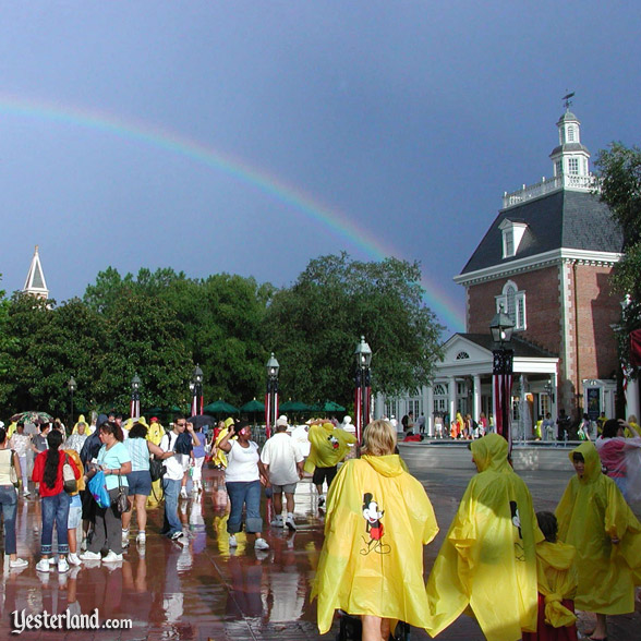 Rainbow at Epcot, 2003