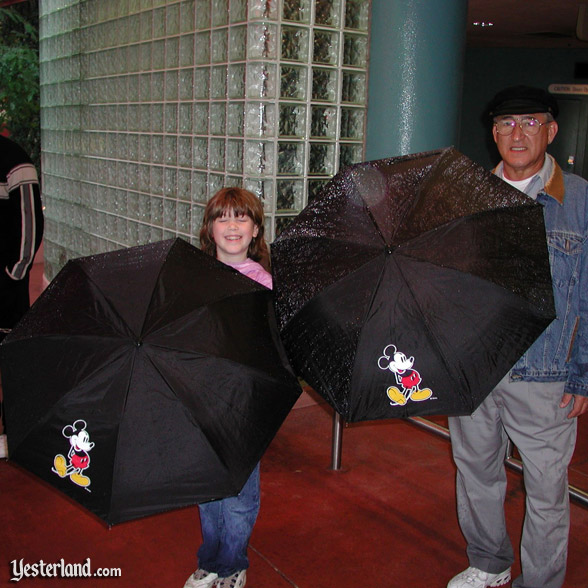 Mickey Mouse umbrellas, 2002