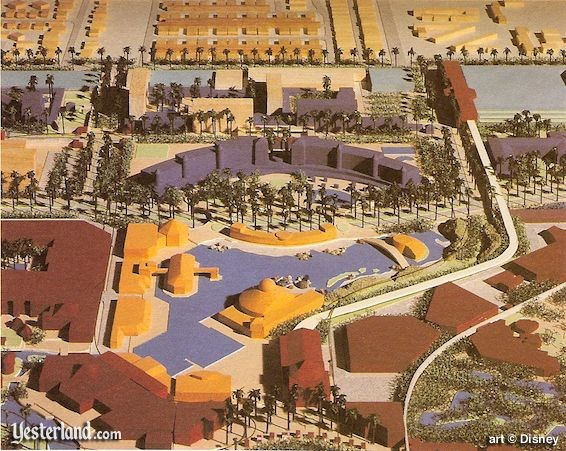 Disneyland Center in the Disneyland Resort Plan of 1991