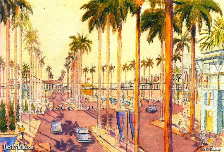 Harbor Boulevard in the Disneyland Resort Plan of 1991