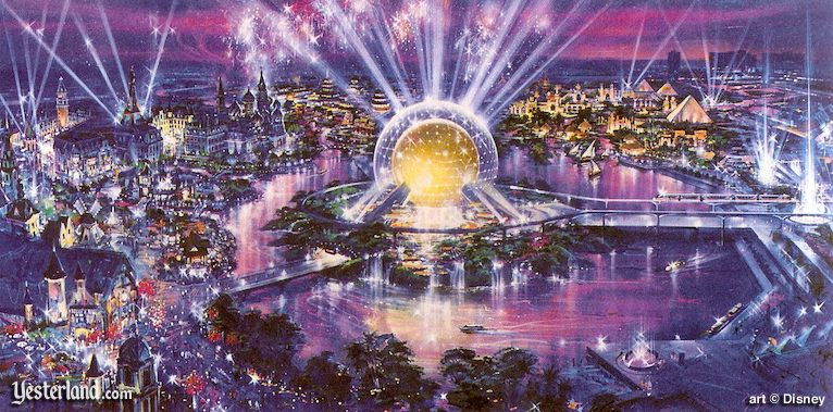 Artist rendering of WESTCOT Center at the Disneyland Resort