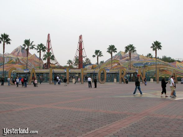 entrance to Disney's California Adventure